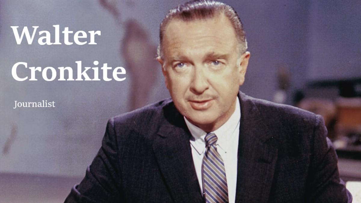 Walter Cronkite Journalist